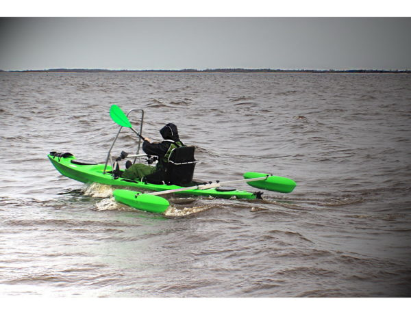 Каяк для рыбалки Tahe Marine Fit 132 Deluxe Angler