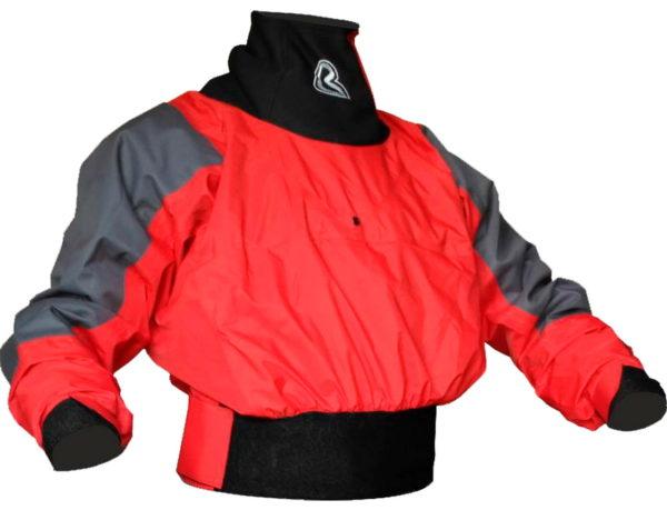 """Сухая куртка """"Вода"""" от российского производителя. Предназначена для использования на бурной воде. Мембрана FineTex обеспечивает сухость и комфорт на протяжении всего времени сплава."""