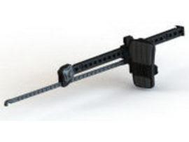 Упоры для каяка (педали) Harmony Slidelock Foot Brace Kit XL.