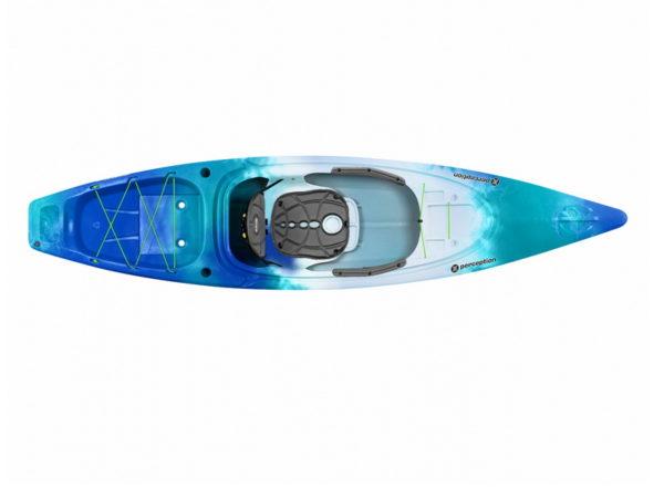 Каяк для отдыха и рыбалки Perception Sound 10.5