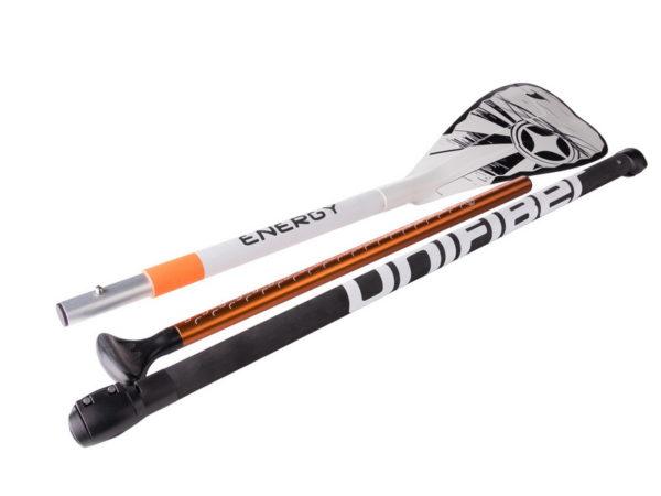 Весло для SUP Unifiber Energy алюминиевое 170-210